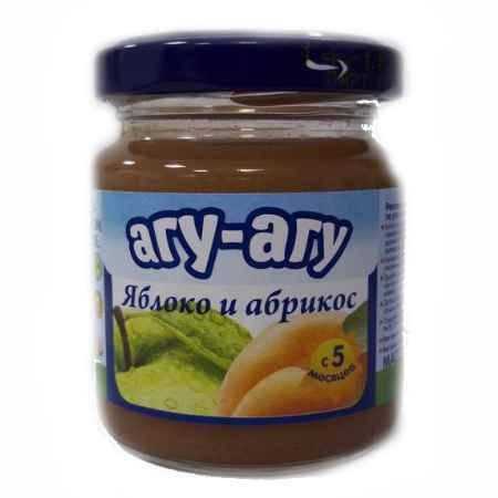 Купить Агу-Агу Пюре Яблоко и абрикос с 5 мес. 100 г
