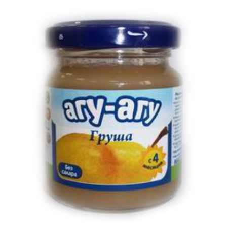 Купить Агу-Агу Пюре Груша без сахара с 4 мес. 100 г