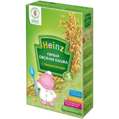 Купить Heinz Первая овсяная кашка с пребиотиками с 5 мес. 180 г