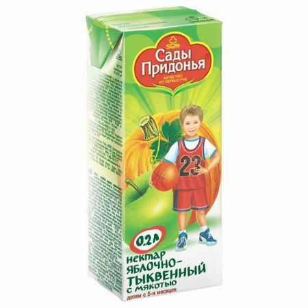 Купить Сады Придонья Сок Яблоко и тыква с 5 мес., 200 мл