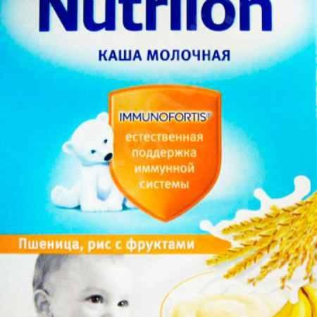 Купить Nutrilon Пшенично - рисовая молочная каша с фруктами с 6 мес. 225 г