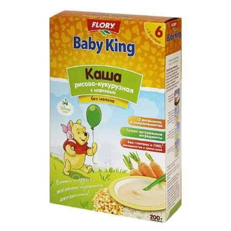 Купить Baby King Рисово-кукурузная каша с морковью