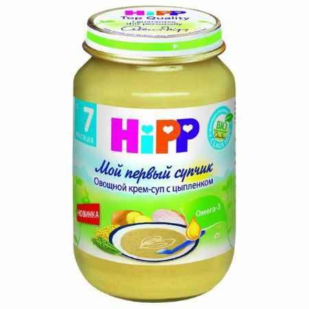 Купить Hipp Овощной крем-суп с цыпленком с 7 мес., 190 г