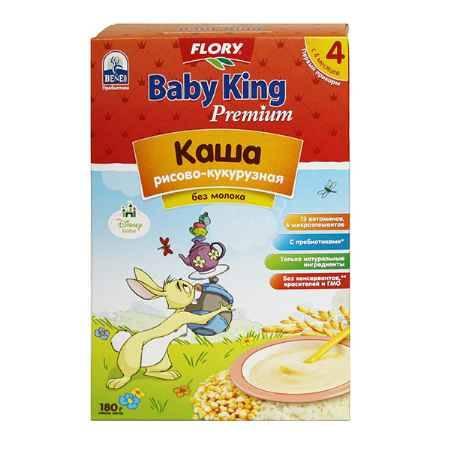 Купить Baby King Рисово-кукурузная каша с пребиотиками Премиум