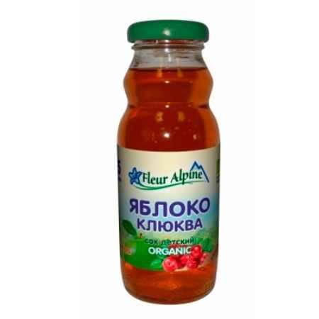 Купить Fleur Alpine Сок Яблочно-клюквенный с 5 мес. 200 мл