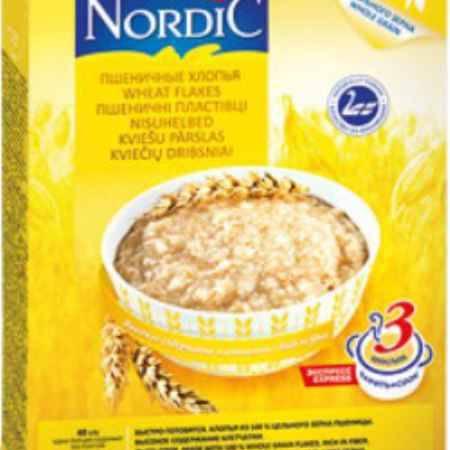 Купить Nordic Безмолочная каша Пшеничные хлопья 600 г