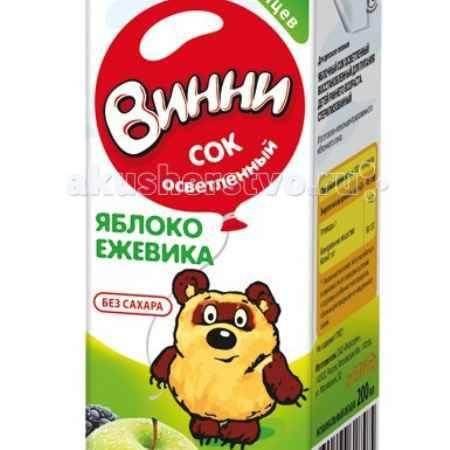 Купить Винни Сок осветленный Яблоко-ежевика