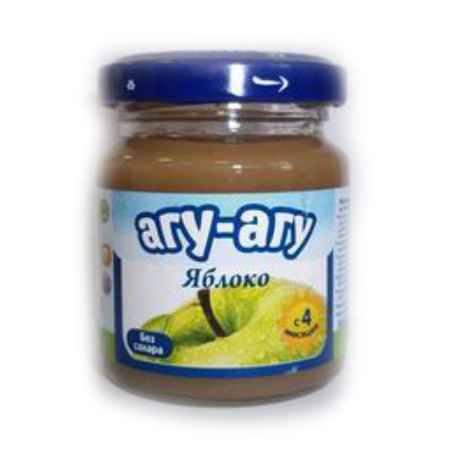 Купить Агу-Агу Пюре Яблоко без сахара с 4 мес. 100 г