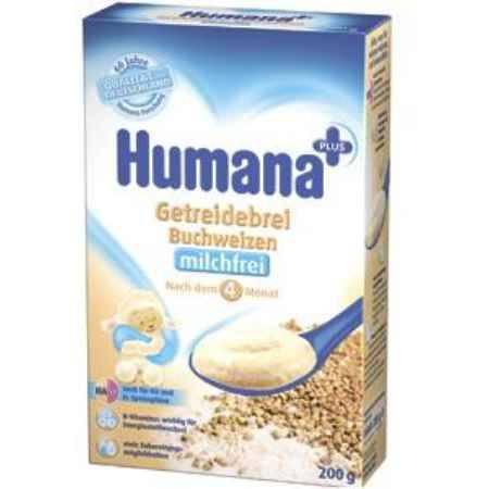 Купить Humana Гречневая каша безмолочная с 4 мес. 200 г