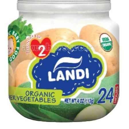Купить Landi Пюре Летние овощи с 7 мес. 113 г