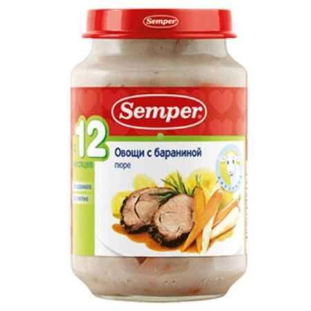 Купить Semper Пюре Овощи с бараниной с 12 мес., 190 г