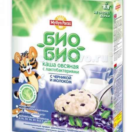 Купить Myllyn Paras Био-Био Каша овсяная молочная с черникой 200 г