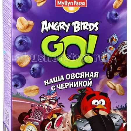 Купить Myllyn Paras Angry Birds Каша овсяная безмолочная с черникой 200 г