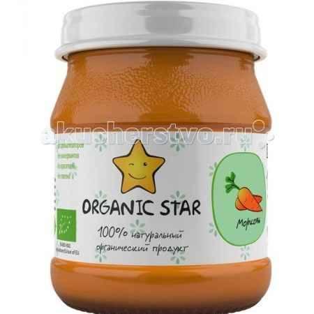 Купить Organic Star Пюре Морковь с 6 мес. 100 г