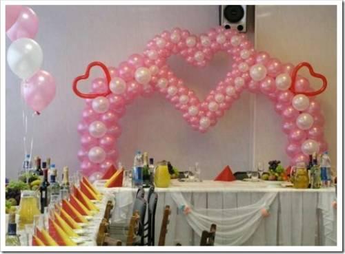 Воздушные шары и другие элементы декора