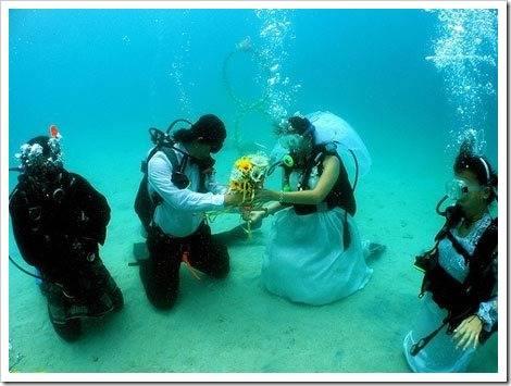 Необычные варианты проведения свадебного торжества