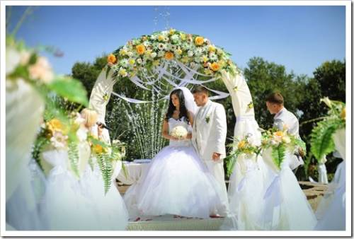 Организация свадебных церемоний.