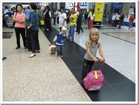 Варианты исполнения детских чемоданов