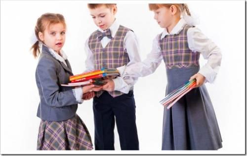 Цветовая палитра школьной формы