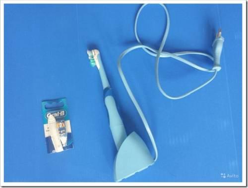 Технология вращения электрической щётки