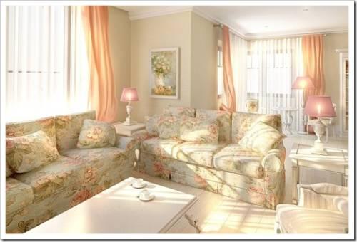 диван к стилю гостиной