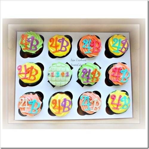 Капкейки – отличная альтернатива праздничному торту