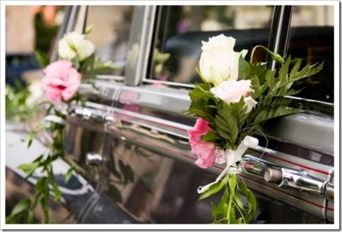 Украшение свадебных кортежей
