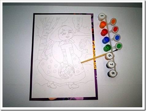 Развитие творческого начала в ребёнке при помощи раскрасок по номерам