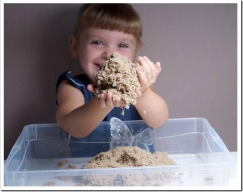 Живой и кинетический песок: в чём заключается разница?