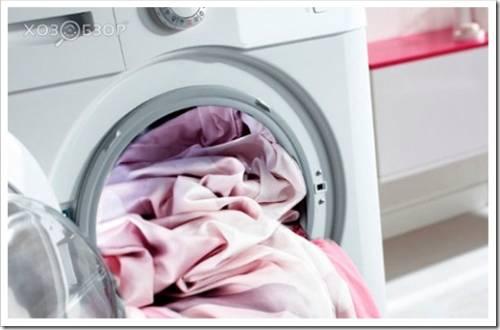 Как стирать постельное белье в стиральной машине?