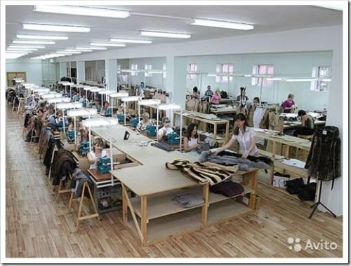 Как выбрать помещение для швейного цеха?