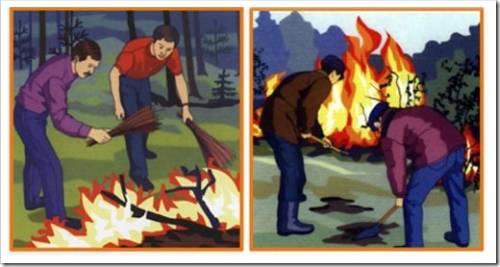 Человек и лесные пожары