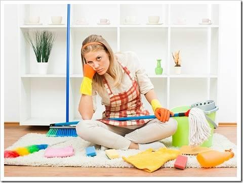 Необходимость уборки и эмоциональный настрой
