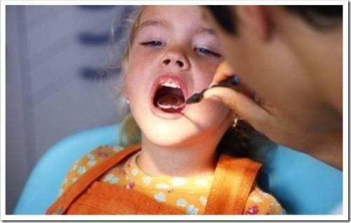 Опасность развития заболевания зубов у ребёнка
