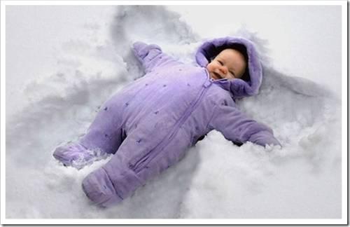 Материал, из которого должна быть сделана детская зимняя одежда
