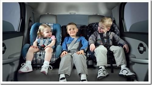 Детские универсальные автокресла