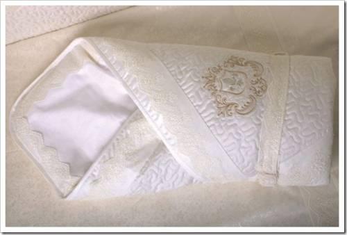 Конверт: он как свадебное платье