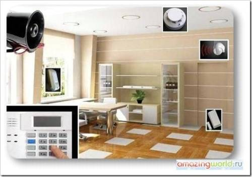 GSM-канал для информирования собственника жилья