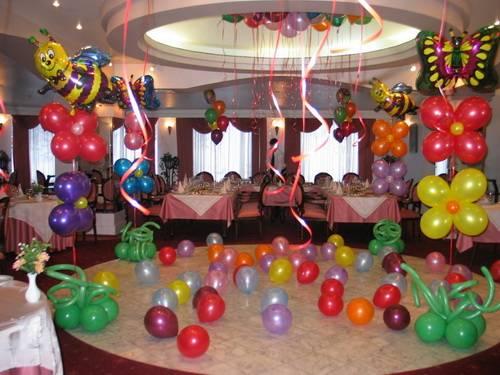 Как украсить праздник воздушными шарами