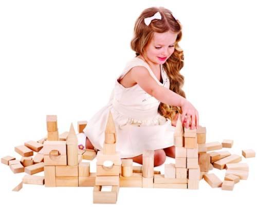 Преимущества деревянного конструктора