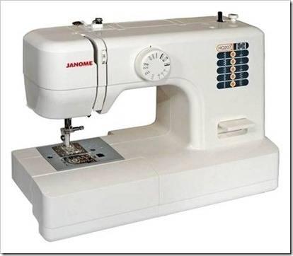 Различные виды швейных машин