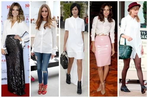Преимущества белой блузки