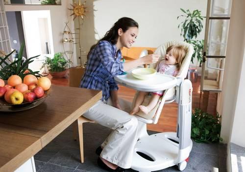 Как выбрать стульчик для кормления малыша