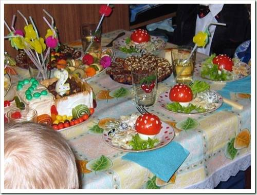 Рецепты на день рождения ребёнка 2 года