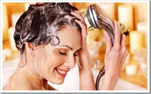 Применение кондиционера для волос
