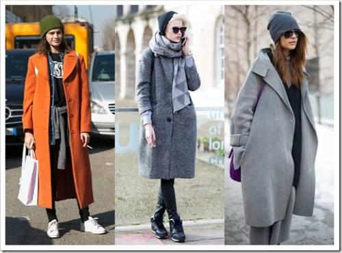 Разнообразные виды зимних пальто