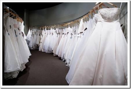 Различные силуэты свадебных платьев
