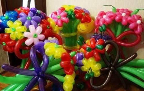 Виды надувных шаров