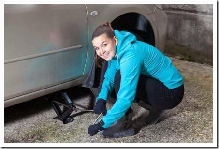Фиксация колеса и помощь на дороге