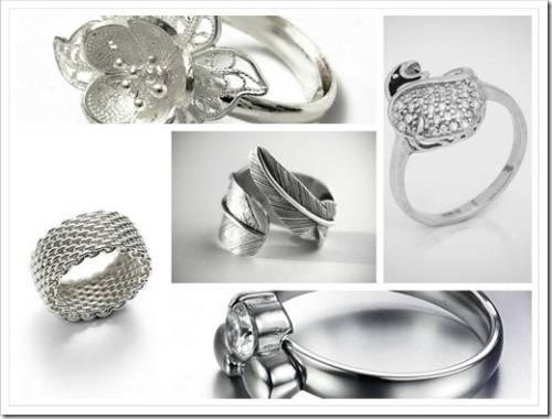 Как выбрать серебряное кольцо